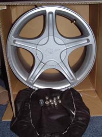 2002 GT Rims with Center Caps & Lugs...GREAT DEAL!